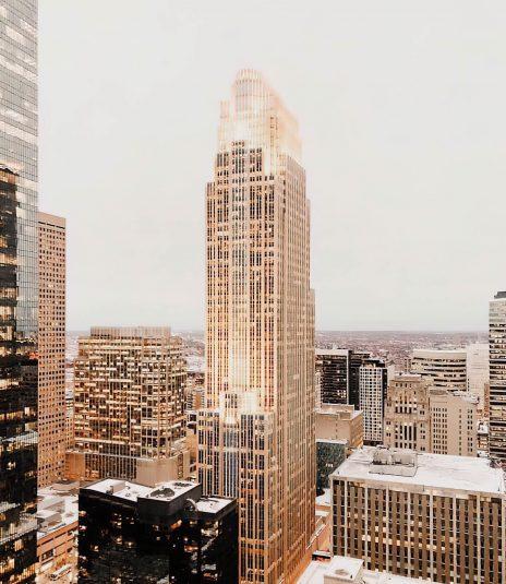 W Minneapolis The Foshay Luxury Hotel - Minneapolis, MN, USA - City View