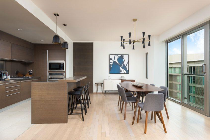 W Scottsdale Luxury Hotel - Scottsdale, AZ, USA - WOW Penthouse Suite Kitchen