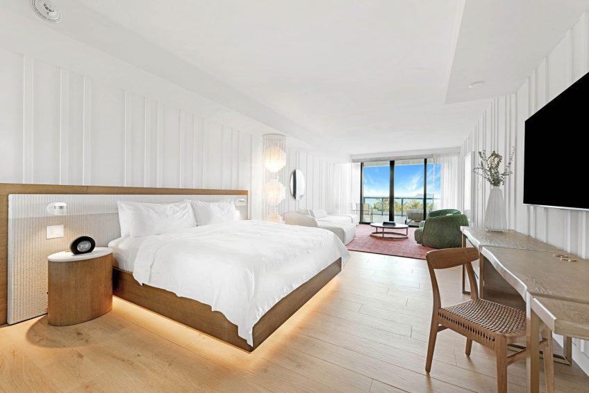W South Beach Luxury Hotel - Miami Beach, FL, USA - Fabulous Studio Beds