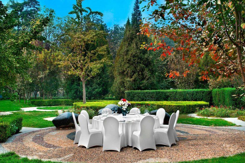 The St. Regis Beijing Luxury Hotel - Beijing, China - St. Regis Garden Gala Dinner