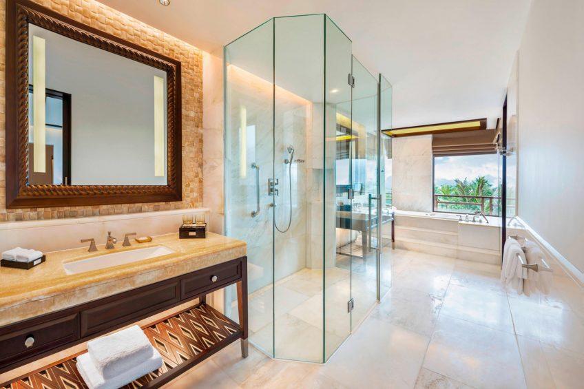 The St. Regis Sanya Yalong Bay Luxury Resort - Hainan, China - St. Regis Suite Bathroom