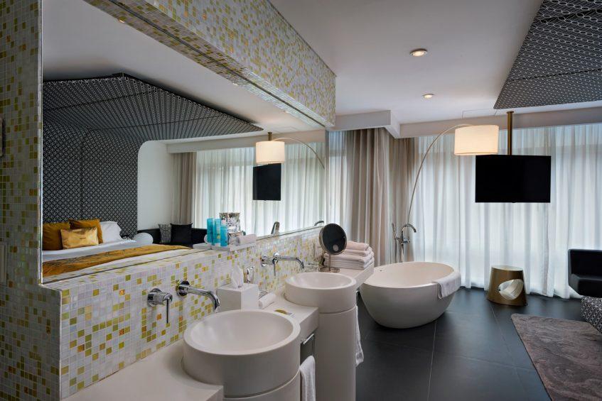W Bogota Luxury Hotel - Bogota, Colombia - Marvelous Suite Bathroom Vanity