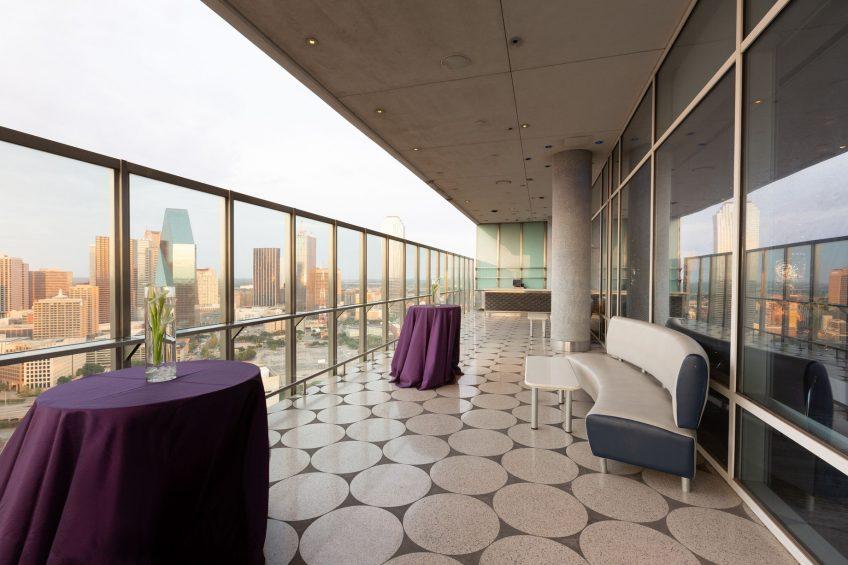 W Dallas Victory Luxury Hotel - Dallas, TX, USA - Altitude Reception Setup