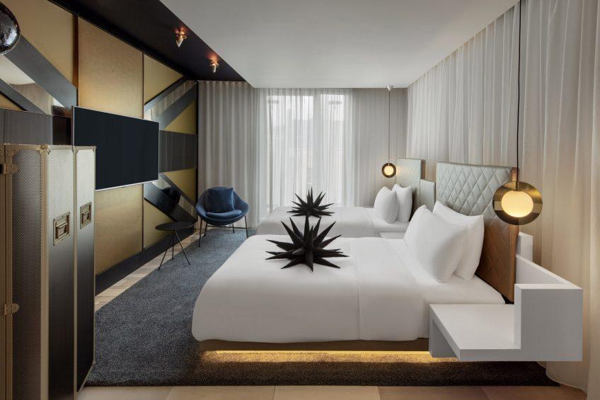 W London Luxury Hotel - London, United Kingdom - Spectacular Twin Guest Bedroom