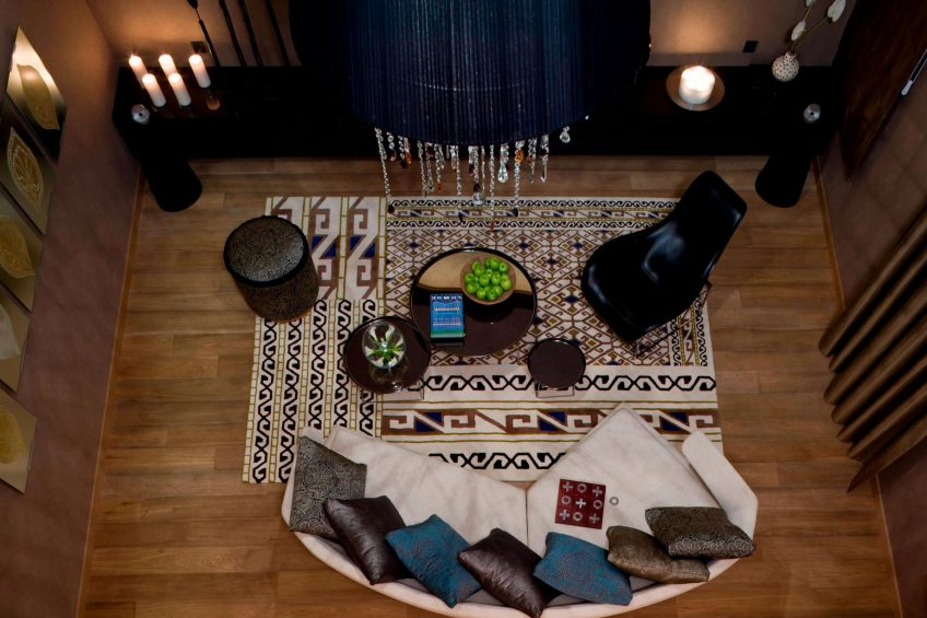 W Istanbul Luxury Hotel - Istanbul, Turkey - WOW Suite Living Room