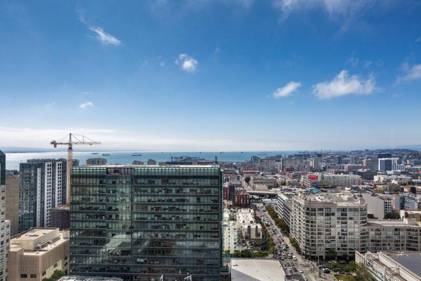 W San Francisco Luxury Hotel - San Francisco, CA, USA - Guest Room Ocean View