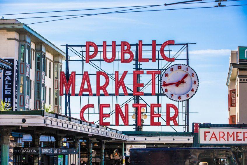 W Seattle Luxury Hotel - Seattle, WA, USA - Pike Place Market