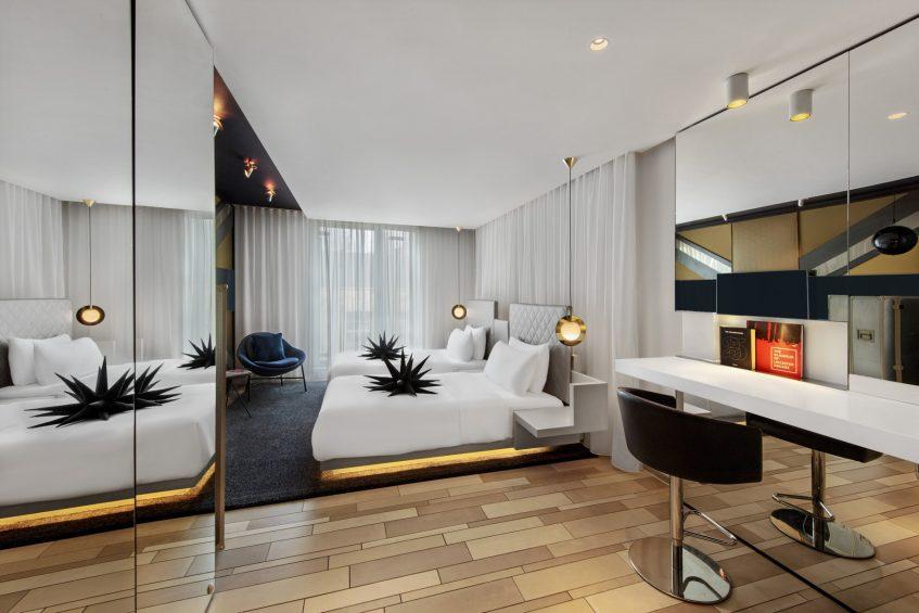 W London Luxury Hotel - London, United Kingdom - Spectacular Twin Guest Room