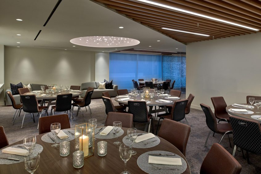 W Los Angeles West Beverly Hills Luxury Hotel - Los Angeles, CA, USA - Gallery C Round Tables