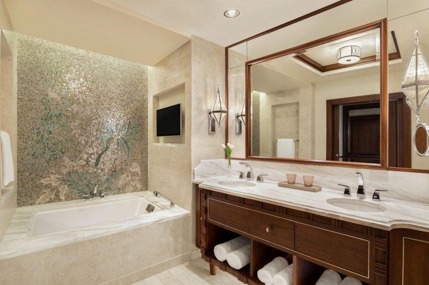 The St. Regis Cairo Luxury Hotel - Cairo, Egypt - Suite Bathroom