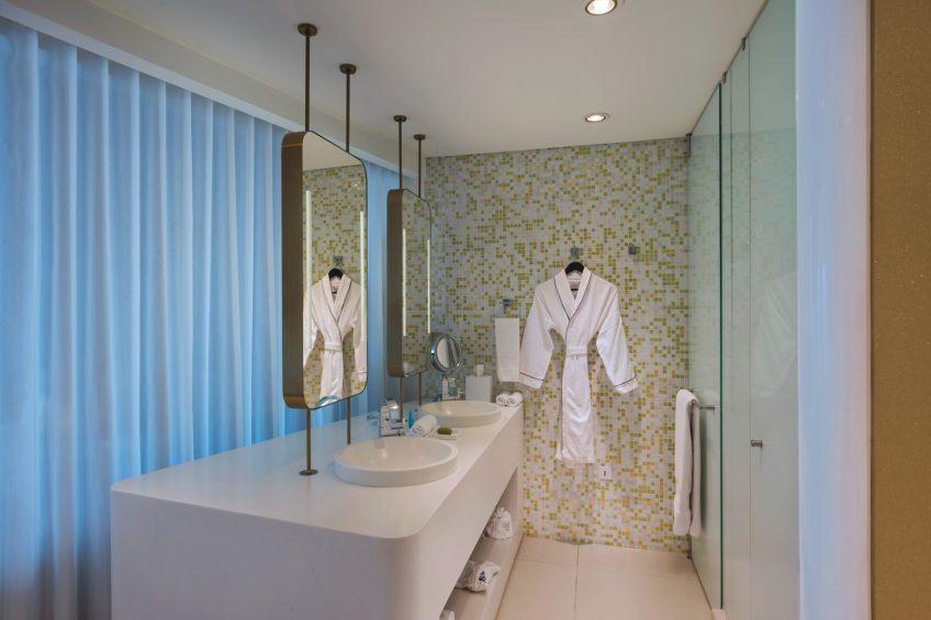 W Bogota Luxury Hotel - Bogota, Colombia - Wonderful Guest Bathroom