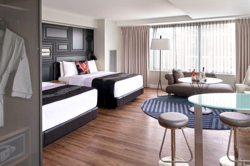 W Boston Luxury Hotel - Boston, MA, USA - Mega Guest Room Double