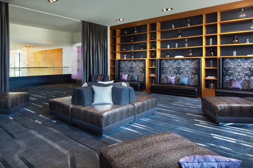 W Dallas Victory Luxury Hotel - Dallas, TX, USA - Social Room