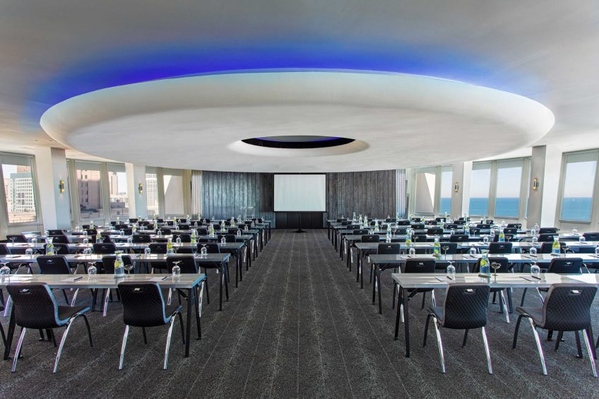 W Chicago Lakeshore Luxury Hotel - Chicago, IL, USA - Altitude Classroom Style Meeting