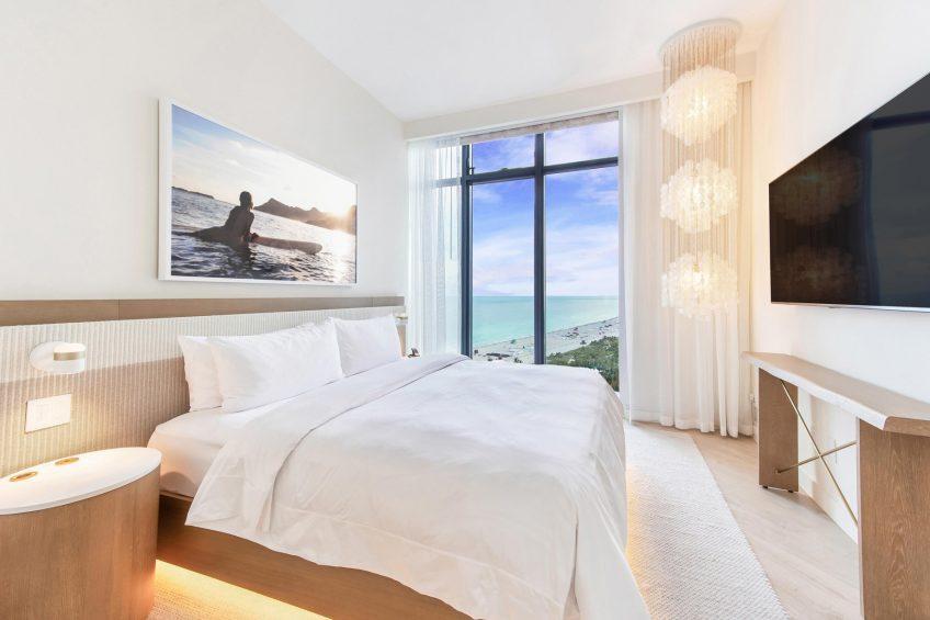 W South Beach Luxury Hotel - Miami Beach, FL, USA - Fantastic Suite Bedroom