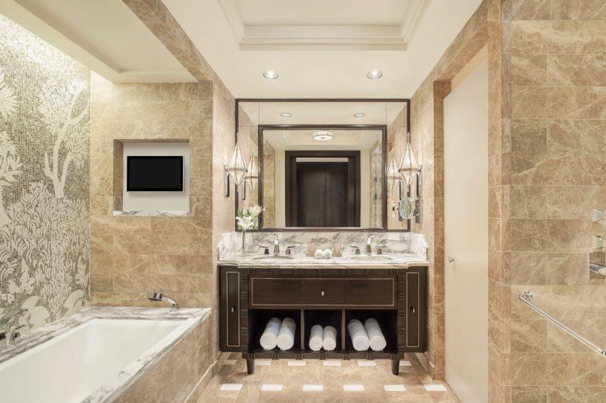 The St. Regis Cairo Luxury Hotel - Cairo, Egypt - Deluxe Guest Bathroom
