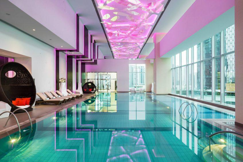 The St. Regis Chengdu Luxury Hotel - Chengdu, Sichuan, China - St. Regis Athletic Club Swimming Pool