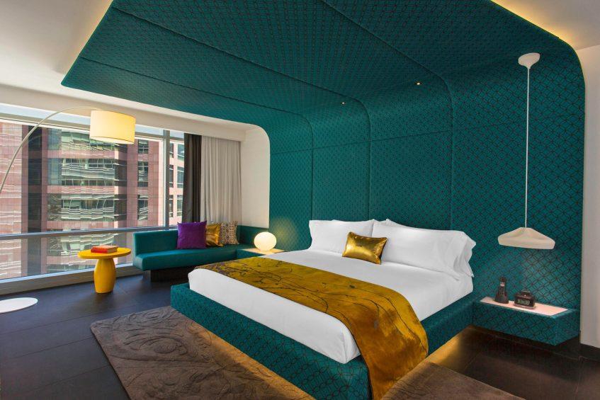 W Bogota Luxury Hotel - Bogota, Colombia - Wow King Suite Bedroom