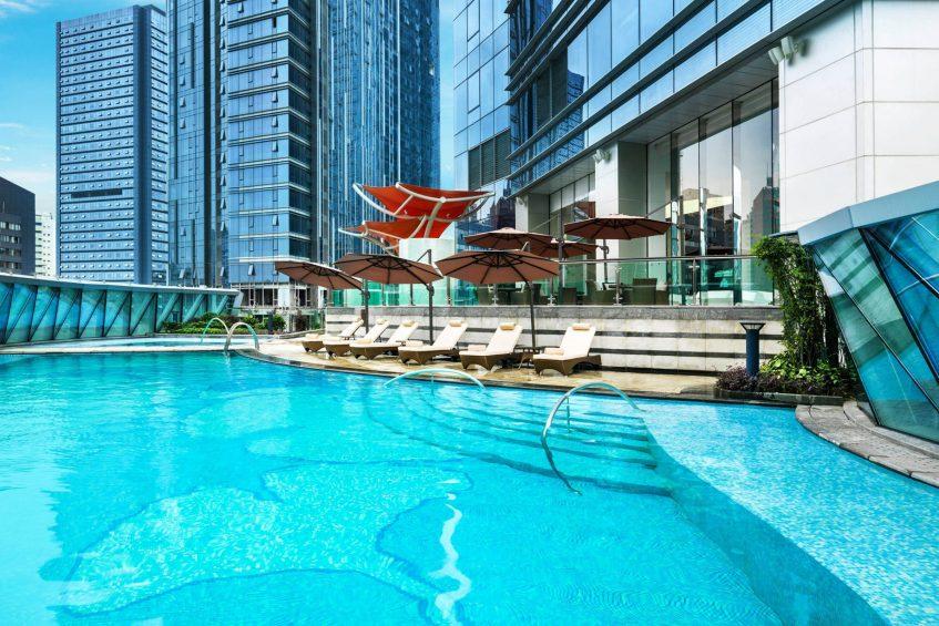 The St. Regis Chengdu Luxury Hotel - Chengdu, Sichuan, China - Outdoor Pool