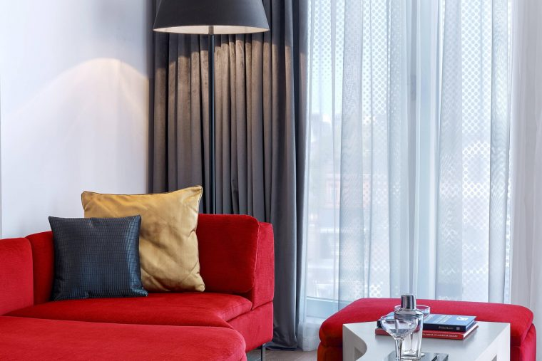 W London Luxury Hotel - London, United Kingdom - Studio Suite Seating