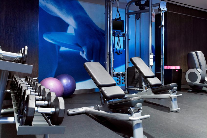 W Los Angeles West Beverly Hills Luxury Hotel - Los Angeles, CA, USA - Fitness Center