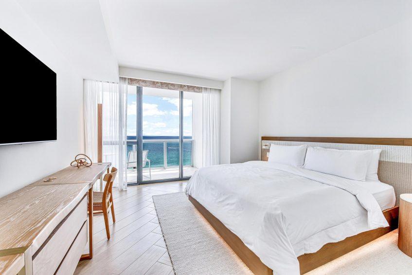 W South Beach Luxury Hotel - Miami Beach, FL, USA - Marvelous Suite Bedroom