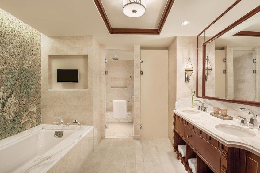 The St. Regis Cairo Luxury Hotel - Cairo, Egypt - Grand Deluxe Room Bathroom