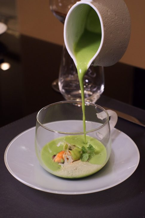 The St. Regis Macao Luxury Hotel - Cotai, Macau SAR, China - French Black Bouchot Mussels Served with Fresh Spring Green Peas