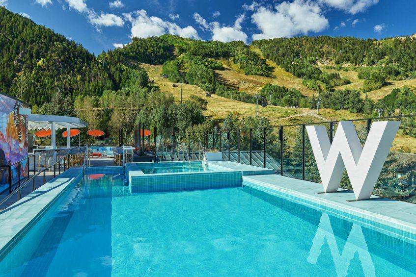 W Aspen Luxury Hotel - Aspen, CO, USA - WET Deck Pool