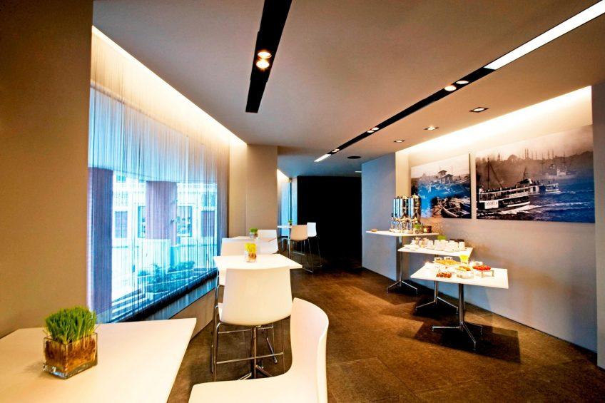 W Istanbul Luxury Hotel - Istanbul, Turkey - W Istanbul Studios Setup Area