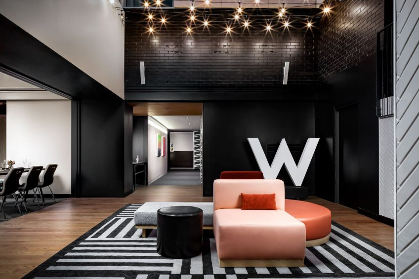 W Montreal Luxury Hotel - Montreal, Quebec, Canada - The Alley Prefunction Space