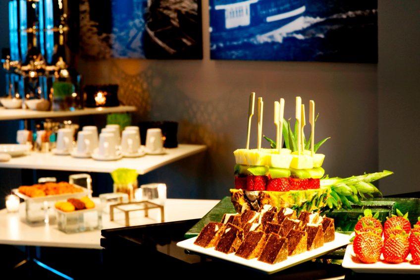 W Istanbul Luxury Hotel - Istanbul, Turkey - W Istanbul Studios Food