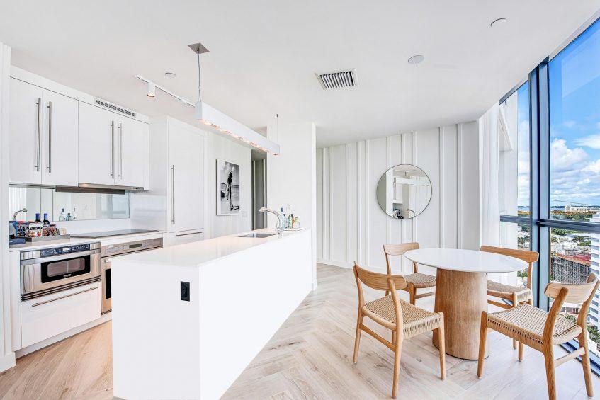 W South Beach Luxury Hotel - Miami Beach, FL, USA - Marvelous Suite Kitchen