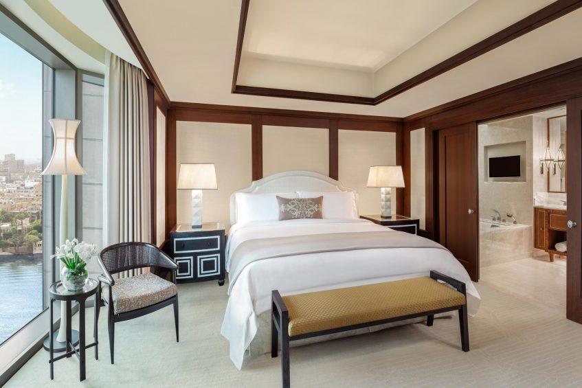 The St. Regis Cairo Luxury Hotel - Cairo, Egypt - Metropolitan Suite Bedroom