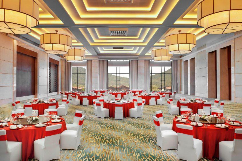 The St. Regis Sanya Yalong Bay Luxury Resort - Hainan, China - Banquet of Ballroom