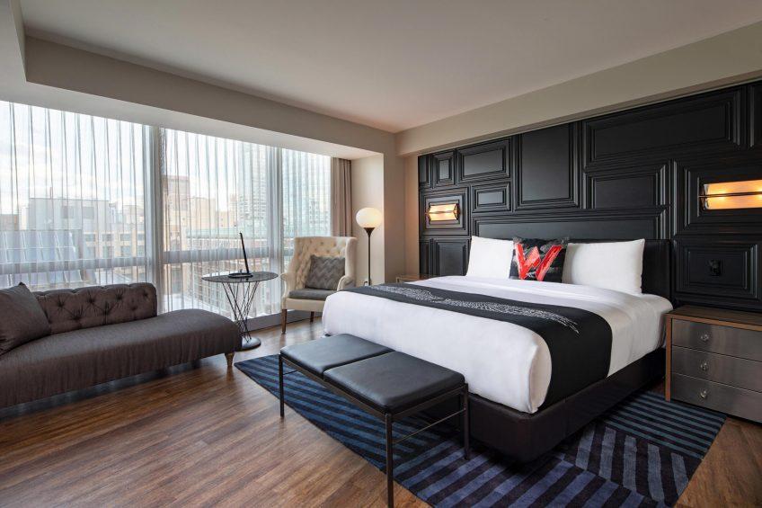 W Boston Luxury Hotel - Boston, MA, USA - Mega Guest Room King