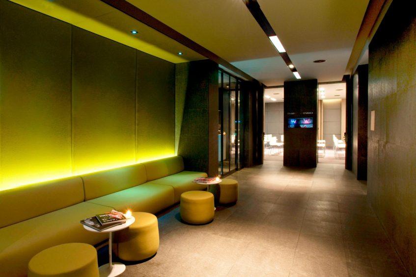 W Istanbul Luxury Hotel - Istanbul, Turkey - W Istanbul Studios Entrance