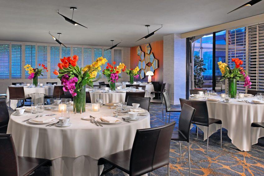 W Los Angeles West Beverly Hills Luxury Hotel - Los Angeles, CA, USA - Studio Three Social Setup