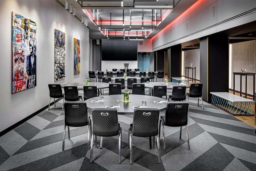 W Montreal Luxury Hotel - Montreal, Quebec, Canada - The Gallery Reception