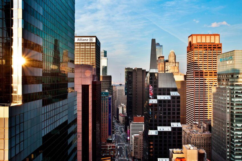 W New York Times Square Luxury Hotel - New York, NY, USA - Marvelous City View Suite