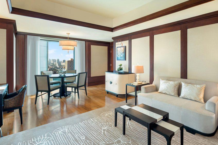 The St. Regis Cairo Luxury Hotel - Cairo, Egypt - Metropolitan Suite Living Room