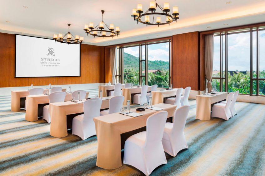 The St. Regis Sanya Yalong Bay Luxury Resort - Hainan, China - VIP Meeting Room