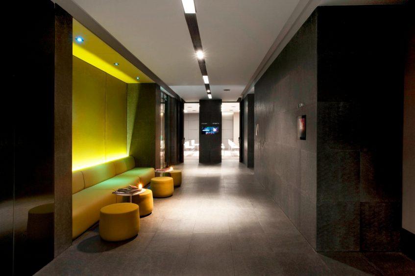 W Istanbul Luxury Hotel - Istanbul, Turkey - W Istanbul Studios Hallway
