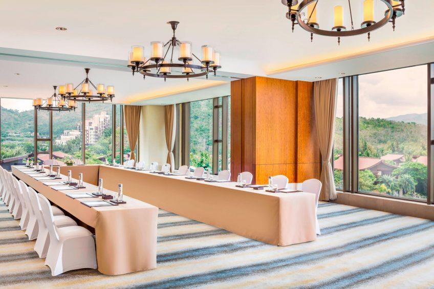 The St. Regis Sanya Yalong Bay Luxury Resort - Hainan, China - Meeting Room