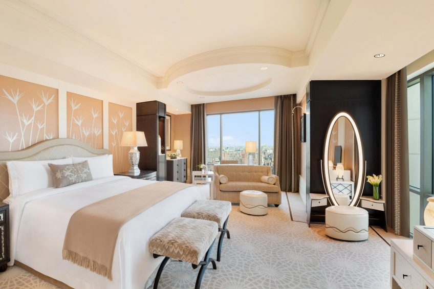 The St. Regis Cairo Luxury Hotel - Cairo, Egypt - Superior Room Bedroom
