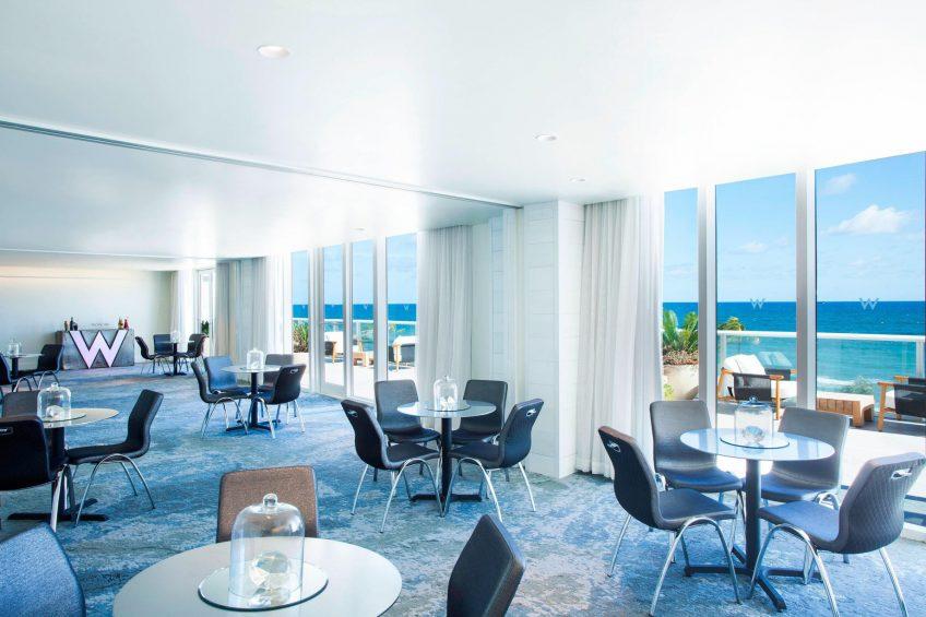 W Fort Lauderdale Luxury Hotel - Fort Lauderdale, FL, USA - Meeting Room Ocean View