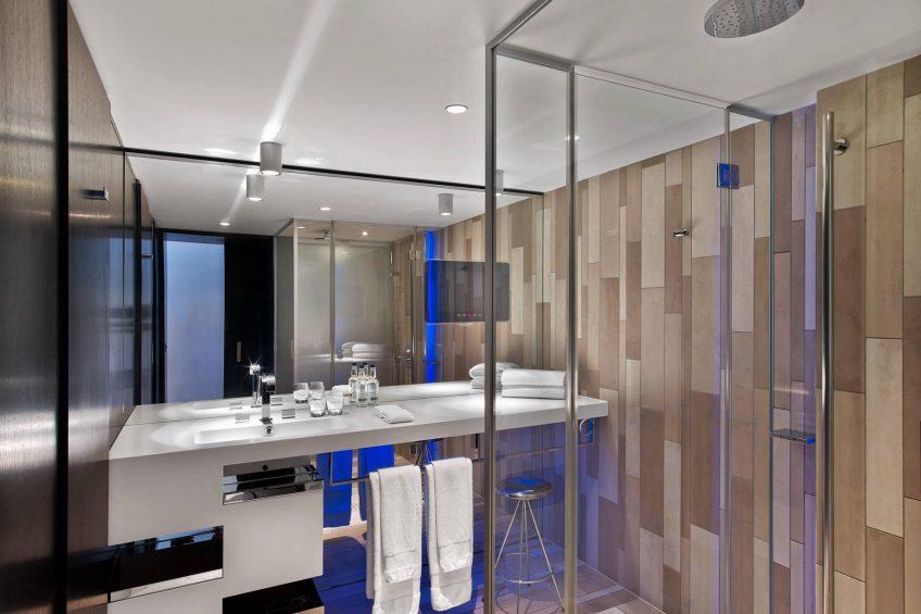 W London Luxury Hotel - London, United Kingdom - Suite Bathroom Shower