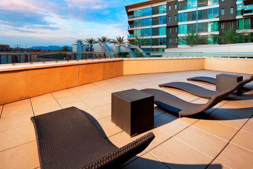 W Scottsdale Luxury Hotel - Scottsdale, AZ, USA - Mega Suite Patio