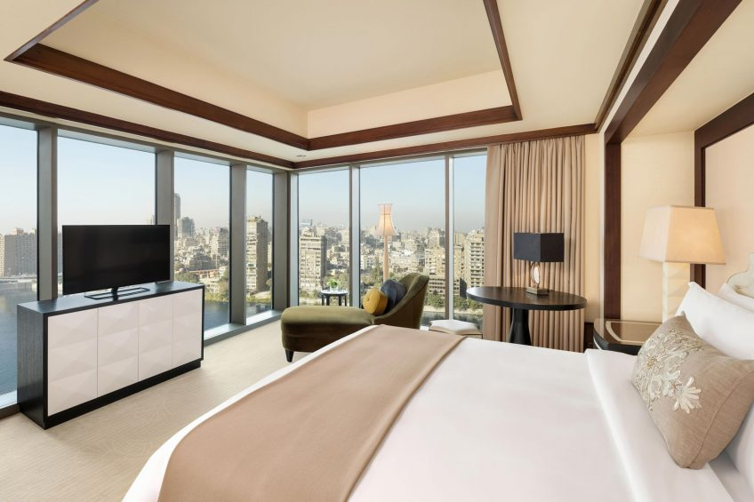 The St. Regis Cairo Luxury Hotel - Cairo, Egypt - The St. Regis Suite Bedroom