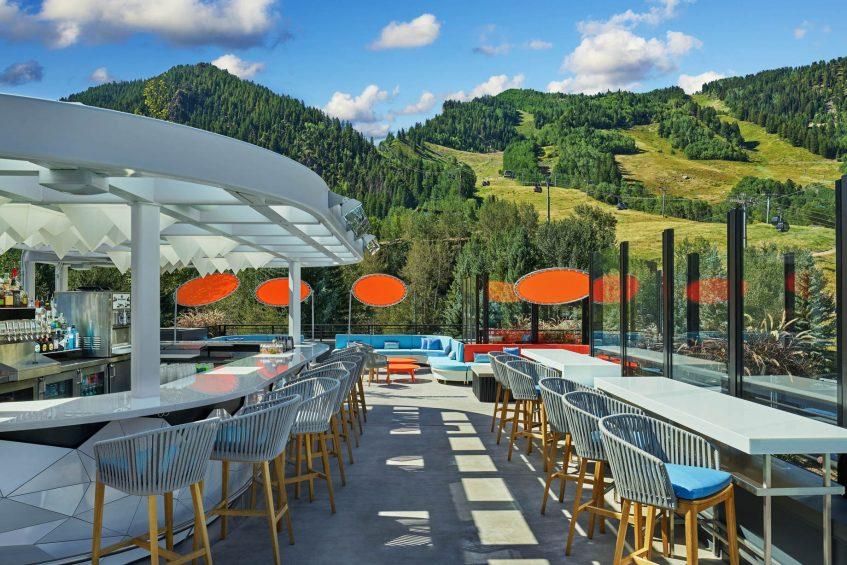 W Aspen Luxury Hotel - Aspen, CO, USA - WET Deck